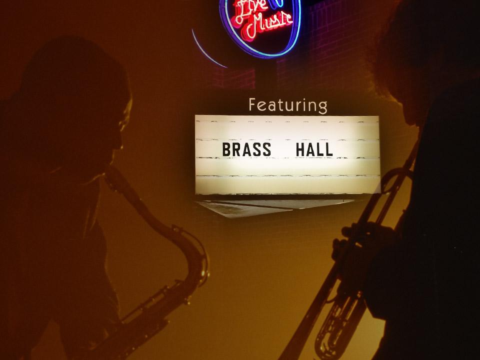 Brass Hall Lights 2